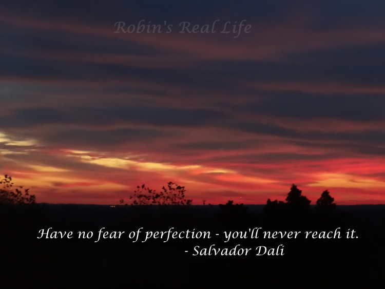 Perfection Quote - Salvador Dali